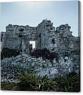 Cancun Mexico - Tulum Ruins - Palace Canvas Print
