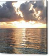 Cancun Sunrise Canvas Print