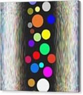 Candid Color 10 Canvas Print