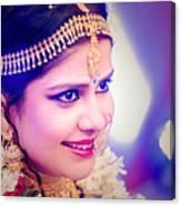 Candid Wedding Photography Pronojit Click Canvas Print
