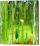 Candleholder Glow Canvas Print