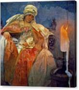 Candlelight 1911 Canvas Print