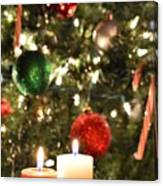 Candles For Christmas 5 Canvas Print