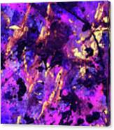 Candy Colours Abstract Canvas Print