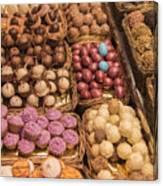 Candy Delights - La Bouqueria - Barcelona Spain Canvas Print