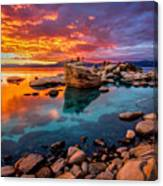 Candy Skies Canvas Print