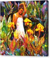 Canna Canvas Print