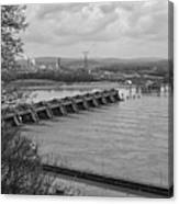 Cannelton Locks And Dam Canvas Print