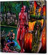 Cannibal Holocaust Canvas Print