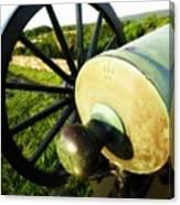 Cannon At Antietam Canvas Print