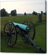 Cannon At Gettysburg 2 Canvas Print