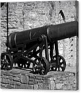 Cannon At Macroom Castle Ireland Canvas Print