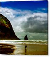 Cannon Beach At Dusk IIi Canvas Print