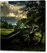 Cannon Encampment Valley Forge Canvas Print