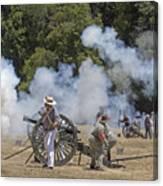 Cannon Fire 1 Canvas Print