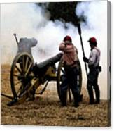 Cannon Fire Canvas Print