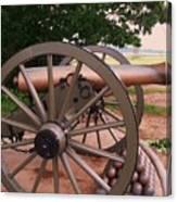 Cannon Gettysburg Canvas Print