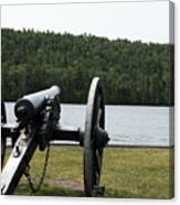 Cannon Protection Canvas Print