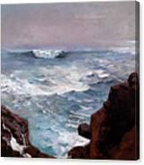 Cannon Rock Canvas Print
