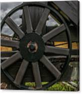 Cannon Wheel Canvas Print