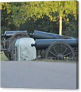 Cannons At Shiloh Canvas Print