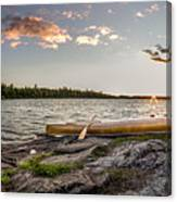 Canoe // Bwca, Minnesota  Canvas Print