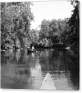 Canoe Joy Canvas Print