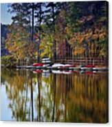 Canoe Lake Canvas Print