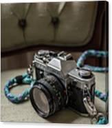 Canon Ae-1 Film Camera Canvas Print