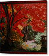 Canopy Of Red Canvas Print