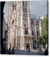 Canterbury Cathedral England Canvas Print