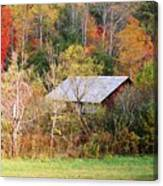 Cantilever Barn - Autumn Canvas Print