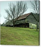 Cantilever Barn Sevier County Tennessee Canvas Print