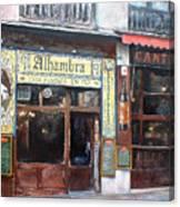 Cantina Alhambra 1 Canvas Print