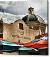 Cantina De San Angel Canvas Print