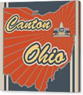 Canton Ohio Canvas Print