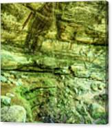 Cantwell Cliffs 2 Hocking Hills Canvas Print
