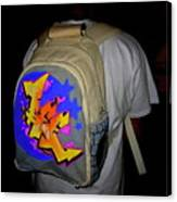 Canvas Back Pack Canvas Print