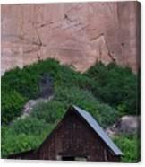 Canyon Barn Canvas Print