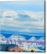 Canyon Beginnings Canvas Print