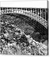 Canyon Bridge Canvas Print