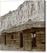 Canyon Bunkhouse Canvas Print