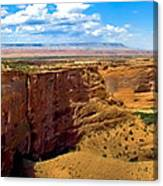 Canyon De Chelley Panoramic Canvas Print