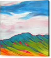 Canyon Dreams 10 Canvas Print