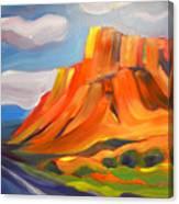 Canyon Dreams 12 Canvas Print