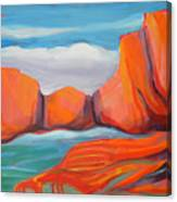 Canyon Dreams 14 Canvas Print