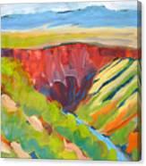 Canyon Dreams 15 Canvas Print