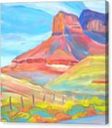 Canyon Dreams 21 Canvas Print