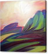 Canyon Dreams Sunset Canvas Print