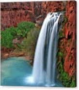 Canyon Falls Vertical Canvas Print